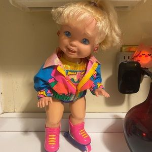 Vintage California Roller doll TYCO 1991